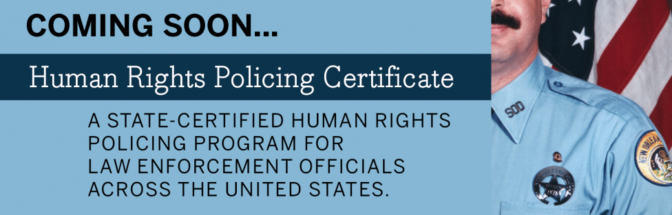 Human Rights Policing Certificate